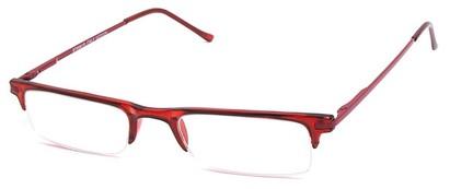 red half frame readers